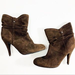Guess Booties in Brown